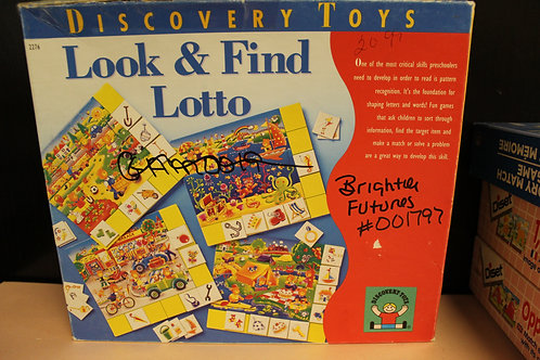 Game-Look & Find Lotto