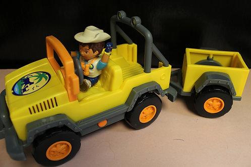 Go Diego Go Jeep/Wagon