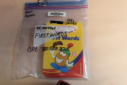 Flash Cards-First Words