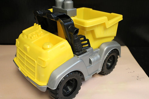 Mega Blok Yellow Dump Truck