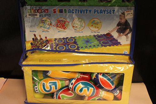 Bowling 5 in 1 Activity Playset