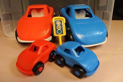 Car Set-Plastic