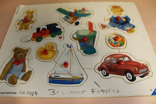Peg Puzzle Toys