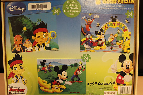 Wooden Disney Junior Puzzle