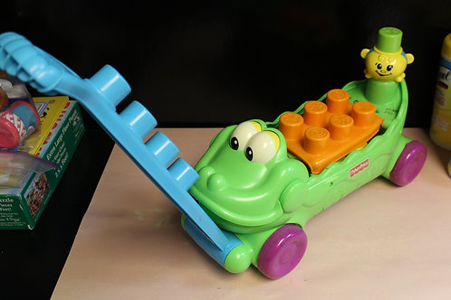 Blockity Alligator Pull Toy