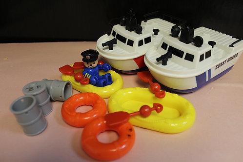 Coast Guard Playset