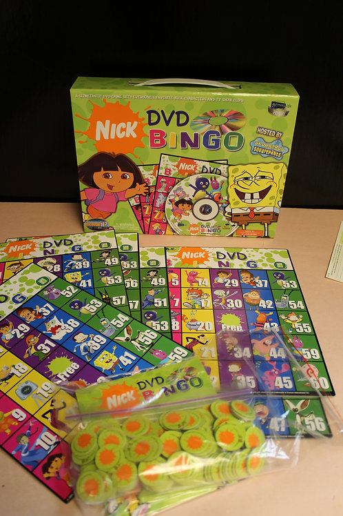 Game-Dora The Explorer DVD Bingo