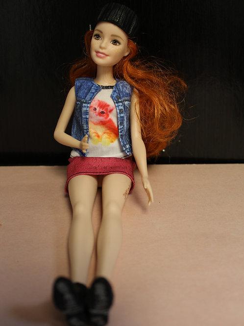 Barbie Doll Fashionista # 47 (Lindsay)
