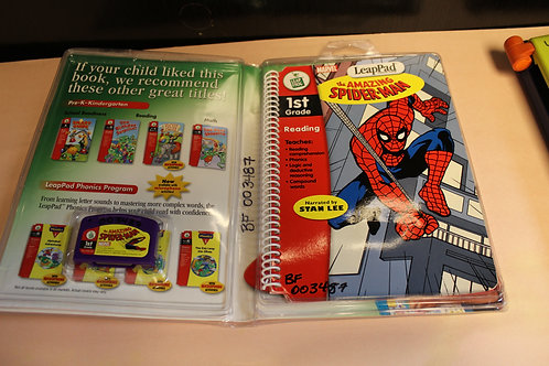 Leap Frog Leap Pad the Amazing Spiderman