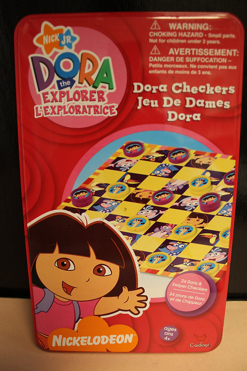 Game-Dora the Explorer Checkers