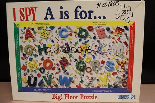 I Spy Floor Puzzle