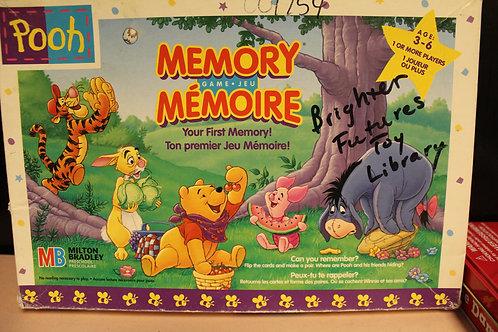 Game-Pooh Memory