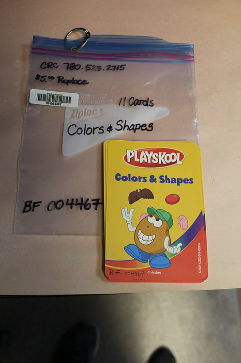 Flash Cards-Colors & Shapes