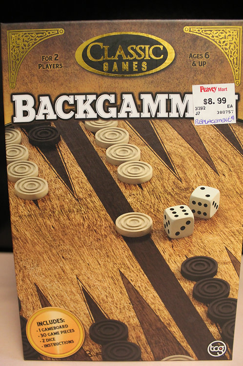 Game-Backgammon