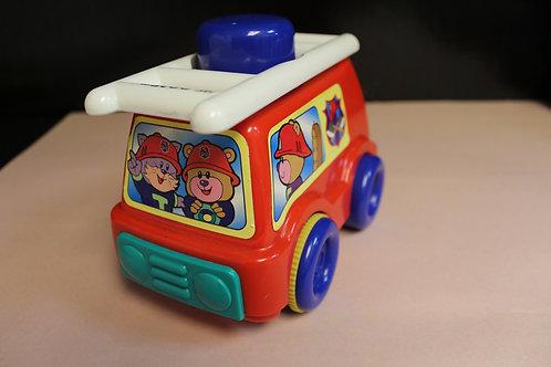 Push & Go Fire Truck