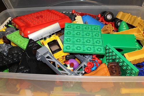 Duplo Mega Bloks Lego Bin