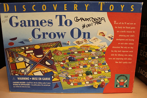 Game-Games to Grow On