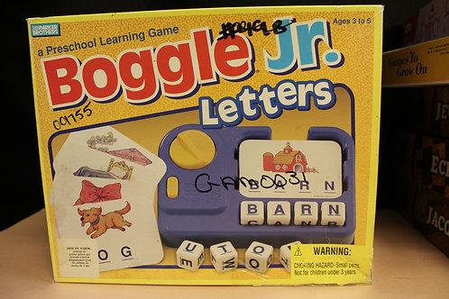 Game-Boggle Jr. Letters
