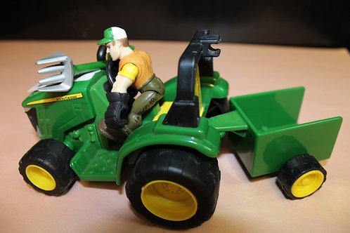 John Deere Tractor/Wagon/Pitchfork/Guy