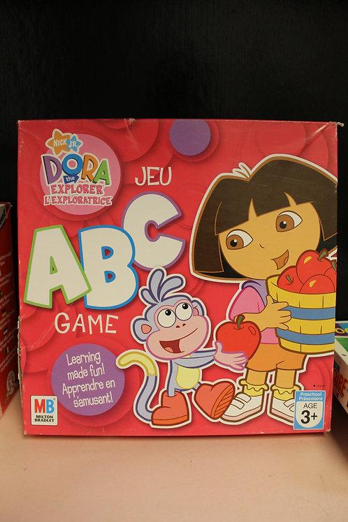 Game-Dora the Explorer ABC