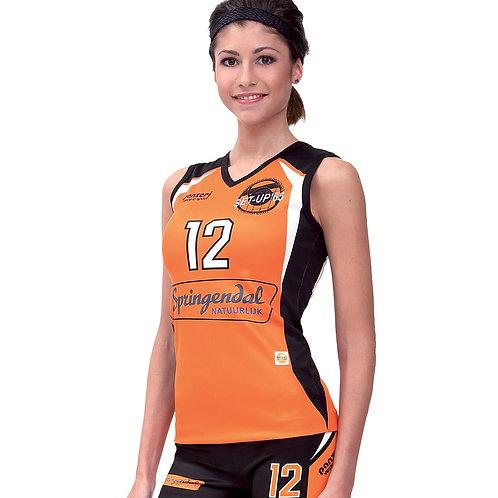 Maglia volley femminile senza maniche