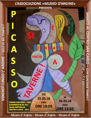 Picasso si è fermato anche a Taverne!