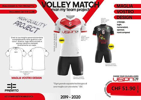 Kit volley maschile competizione