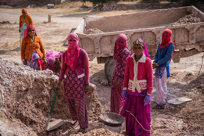 Women workers in Rajasthan