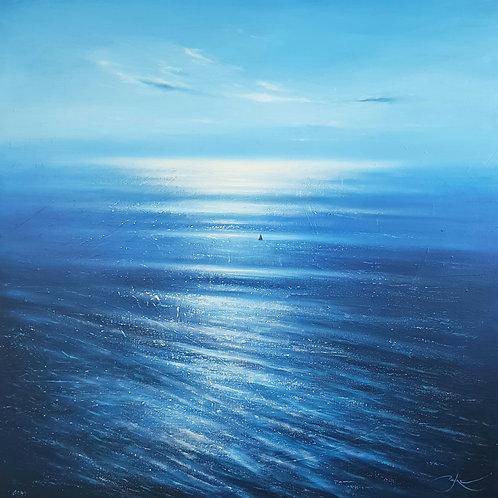 "Seeking the Dream 36""×36"" oil on canvas"