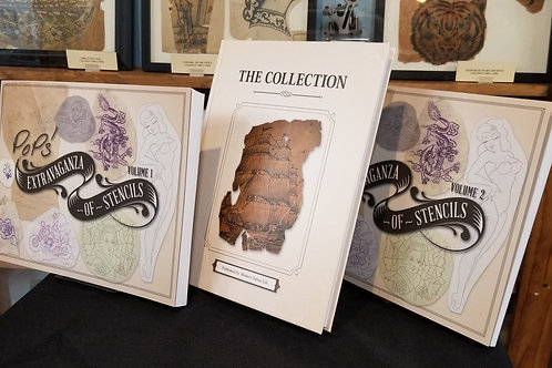 THE COLLECTION and Pops Extravaganza of Stencils Volumes 1 & 2
