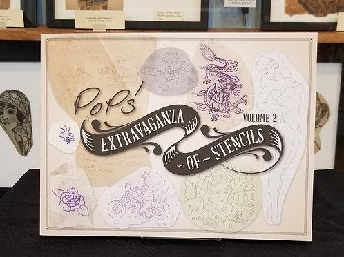 Pops Extravaganza of Stencils Volume 2