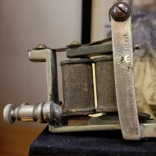 TATTOO MACHINE BY PERCY WATERS