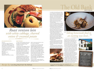The Old Bank in the KL Magazine Special Food Edition!