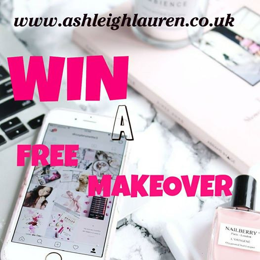 WIN A FREE MAKEOVER