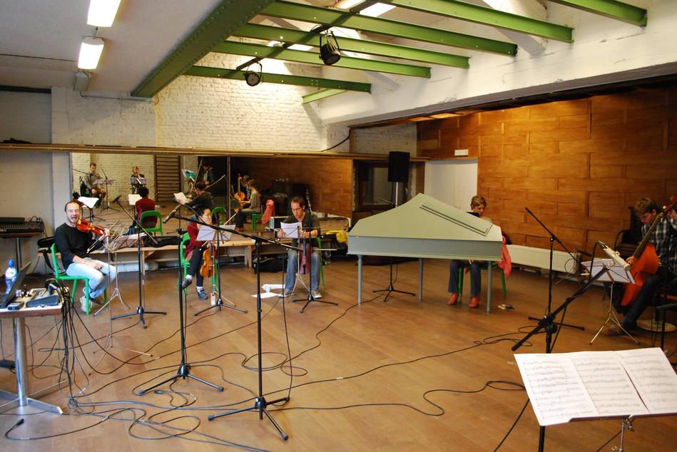 Europa Ritrovata. Recording Session. 2016