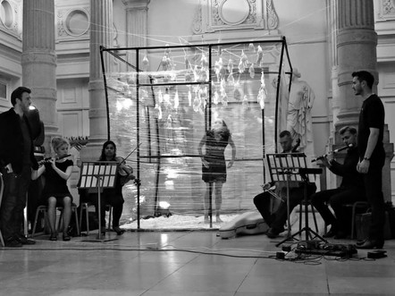 Europa Ritrovata. Royal Conservatoire Brussels.Nuit Blanche. 2014
