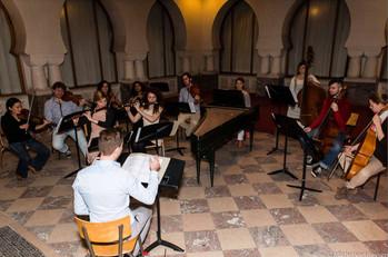 Europa Ritrovata. Recording of Barococorico by Albert Behar. 2014