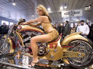 Cavalieri e motociclette
