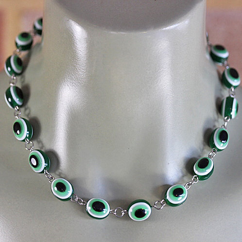 Green Eyes Necklace