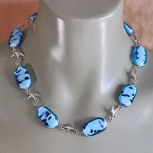 Blue Dove Necklace