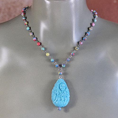Karina the Mermaid Necklace