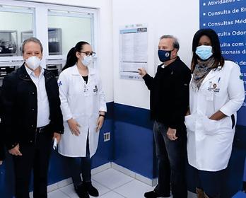 Camilo Cristófaro destinou recursos para reformas de UBS's, aquisição de novos equipamentos, construção de novas salas para médicos, autor da Lei da Lista de Medicamentos e muito mais!!!