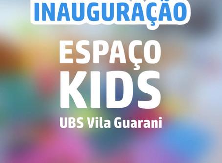 Espaço dedicado às crianças