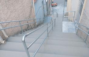 Camilo Cristófaro no Sacomã e Região escadaria escadões, passarela rotatória, idosos, espaço para cães, iluminação em LED