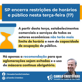 SP encerra restrições de horários e público da quarentena nesta terça; veja como fica