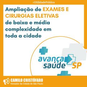 Avança Saúde SP amplia oferta de cirurgias eletivas e exames em Hospitais Dia da cidade