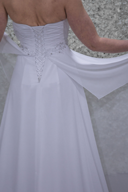 Hand Made Wedding Dress Bella - Full Length A Line | Size 10