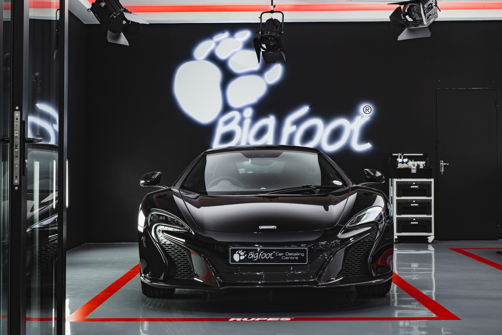 Black Mclaren Detailed By Bigfoot Detailing