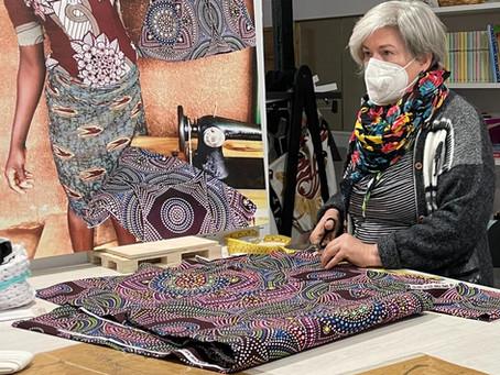 La Costura que une mujeres de Africa y Valencia.