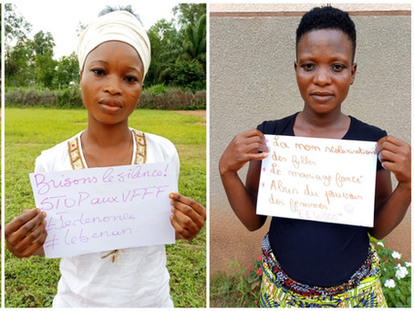 TOLERANCIA CERO hacia la Violencia de Género en Benin